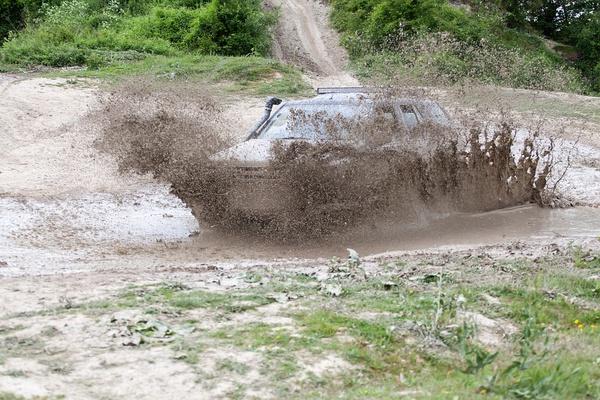 Mud Driving